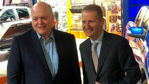 """Форд"" и ""Фолксваген"" обявиха глобално партньорство за пикапи и микробуси"