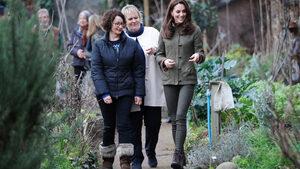 """Кейт Мидълтън ще прoектира """"горска"""" градина за цветно изложение"""