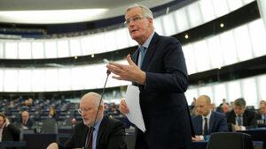 Британският парламент отхвърли възможно най-добрия компромис за Брекзит, каза Барние