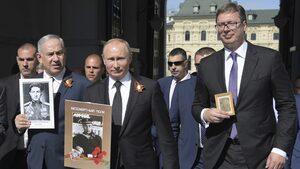 """""""Турски поток"""", Косово и орден за Вучич - защо Путин е в Белград днес"""