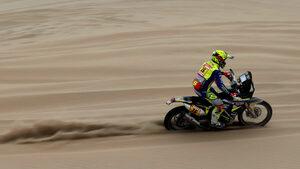 """Мотоциклетистите си осигуриха зрелищна надпревара в последния етап на """"Дакар"""""""