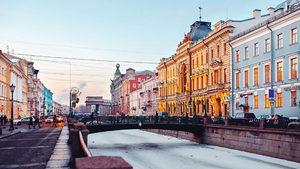 Седем дни в Санкт Петербург