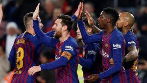"""Меси и Дембеле пратиха """"Барселона"""" на четвъртфинал в Купата на краля"""