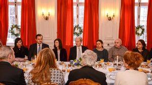 Тридесет години след закуската с Митеран френското посолство събра български франкофони