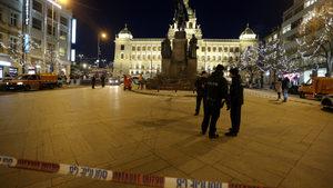 Мъж се запали в Прага на мястото, където преди 50 години го направи Ян Палах