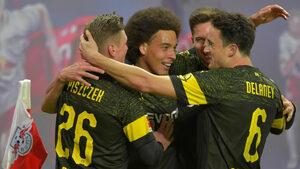 """""""Дортмунд"""" премина труден тест в Лайпциг и пак поведе с шест точки на """"Байерн"""""""