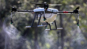 Снимка на деня: С дрон срещу мръсния въдух