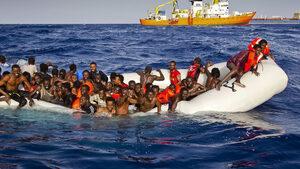 Германия замрази участието си в операцията срещу трафика на хора през Средиземно море