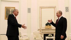 Путин и Ердоган договориха нова среща с Рохани в Сирия