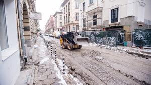 """Ремонтът на столичната улица """"Иван Вазов"""" започва отново"""