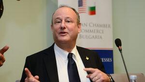 Посланикът на САЩ Ерик Рубин е посетил БНБ
