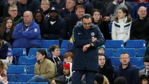 """Изтече ли времето на Маурицио Сари в """"Челси"""" след загубата от """"Юнайтед"""""""