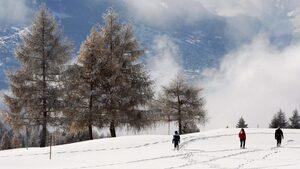 Лавина затрупа поне десет души в швейцарски ски курорт