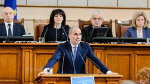 Цветанов съжали депутатите от БСП заради лидера им, който ги водел към пропастта