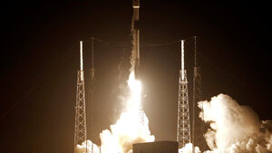 SpaceX изпрати към Луната израелски спускаем апарат (видео)