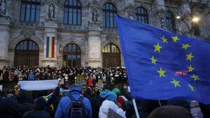 Безпрецедентен протест на прокурори и съдии започва в Румъния