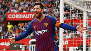 "Хеттрик на Меси донесе драматична победа на ""Барселона"" в Севиля"