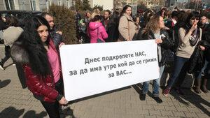 Недоволството на медицинските сестри ескалира: блокирано движение и обещания за нови протести