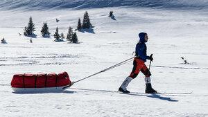 Владимир Донков започна самостоятелната си полярна експедиция