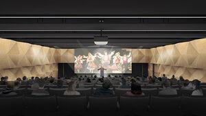 Фотогалерия: Окончателната визия на проекта за нова библиотека във Варна