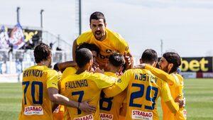 """""""Левски"""" се върна към победите в мач със седем гола срещу последния"""