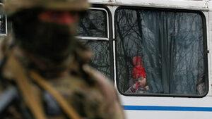 Фотогалерия: Украинците ще гласуват за мир