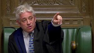 Сделката за Брекзит не може да се гласува отново в парламента в Лондон