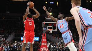 Видео: Хардън продължи да пише история с нов рекорд в НБА