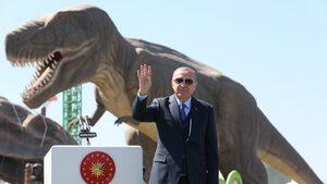 Ердоган и Т-Rex: В Анкара е открит увеселителен парк за $256 млн. (видео)