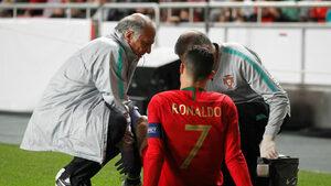Кристиано Роналдо се контузи при равенство на Португалия