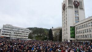 Негодуванието и на българите, и на ромите в Габрово е срещу правителството