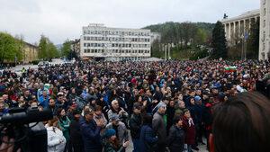 Фотогалерия: Протестите в Габрово