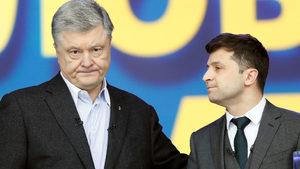 Украинският комик, станал президент в сериал, се готви да спечели днес истинските избори