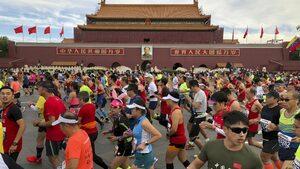 Треска за бягане: как Китай се влюби в маратоните