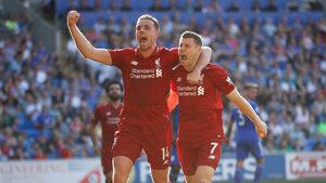 """""""Ливърпул"""" върна топката в полето на """"Сити"""" с търпелива победа над """"Кардиф"""""""