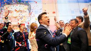 Комикът Зеленски е новият президент на Украйна (допълнена)