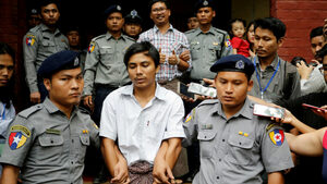 """Върховният съд в Мианма потвърди присъдите за репортери на """"Ройтерс"""""""