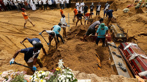 Жертвите на ислямистите в Шри Ланка достигнаха 359, арестуваните са над 60