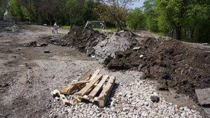 Столична община: Заради дъжда ремонтът на Западния парк се забавя с шест месеца