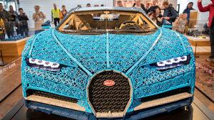"""Снимка на деня: Първата в света кола """"Бугати"""" от """"Лего"""""""