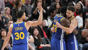 """""""Голдън стейт"""" докосва пети пореден финал в НБА (видео)"""