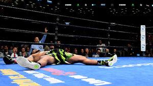 Уайлдър защити световната си титла със зрелищен нокаут в първия рунд
