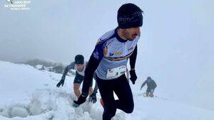 Кирил Николов-Дизела записа силен резултат в снежно бягане в Алпите
