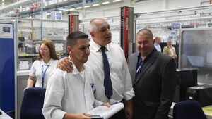 """Германската """"Костал"""" откри нова база в Пазарджик с 1200 работни места"""