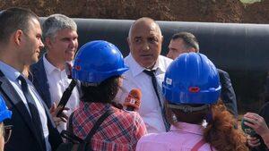 Борисов видя газови магистрали, осигуряващи 1000% диверсификация