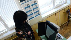 За машинното гласуване в едно училище в центъра на София