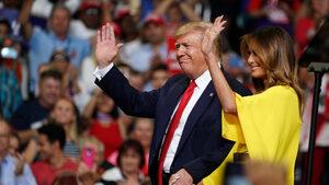 С обещание да запази Америка велика Тръмп започна кампанията си за втори мандат
