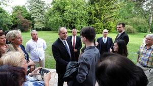Радев препоръча от Женева в България да се мине към качествени измерители на живота