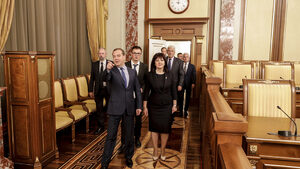 """Медведев потвърди, че """"Росатом"""" ще участва в процедурата за АЕЦ """"Белене"""""""