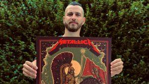 """Български илюстратор нарисува официален плакат за """"Металика"""""""